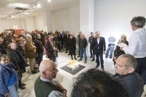 """Neuer Kunstverein Wuppertal Das Atelier- und Galeriekollektiv wurde 1976 gegründet und ist seither ein Impulsgeber der Kunstvermittlung. Schwerpunkt ist die Förderung unabhängiger KünstlerInnen. Zur Ausstellung wird das limitierte Buch """"Der lange Marsch"""" herausgegeben. Foto: Björn Ueberholz"""