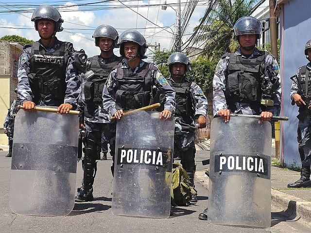 Polizei und Armee, Politik und Justiz sind in Honduras tief in die Gewalt verstrickt, Foto: Øle Schmidt