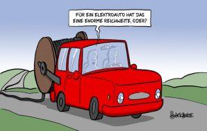 Saubermann E-Auto