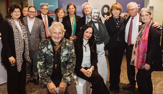 Auch Kabarettist und Musiker Konrad Beikircher feiert mit, Foto: Kölner Offenbach-Gesellschaft